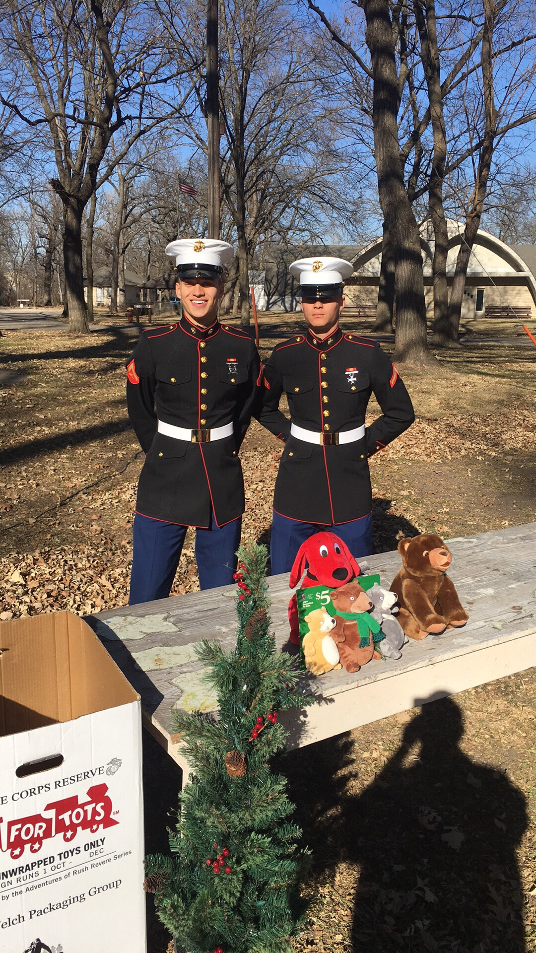 Toys for Tots Mile of Toys